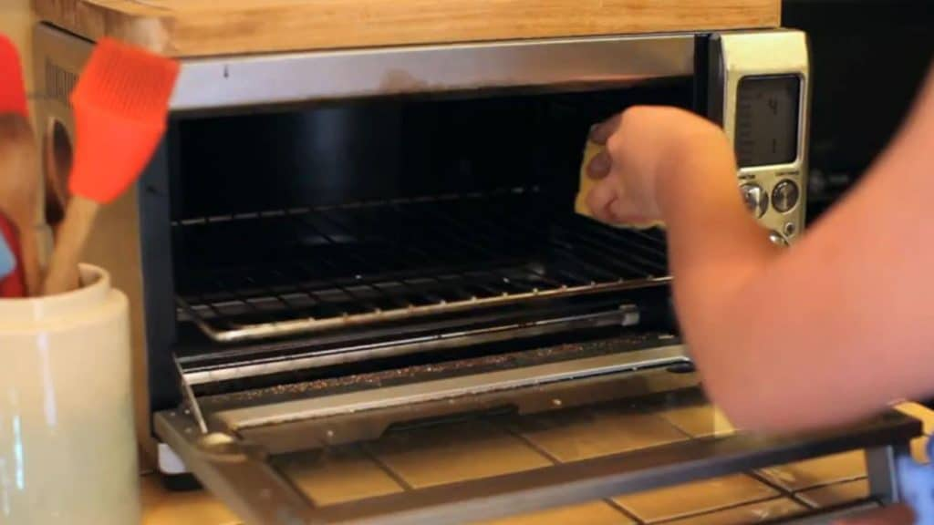 how to clean your toaster oven